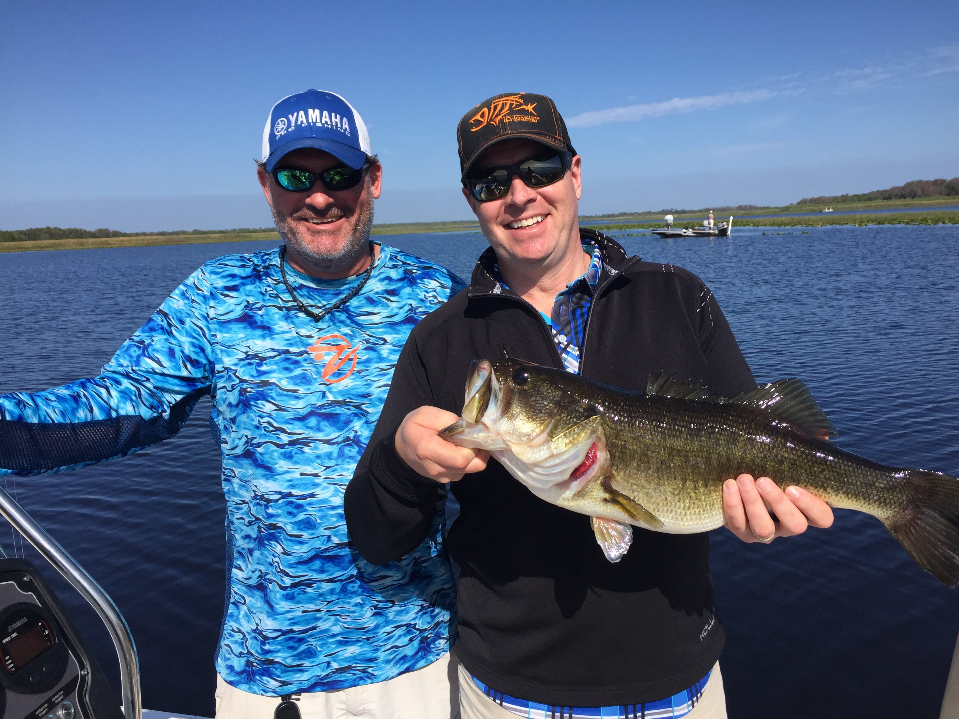 Tmc guide services central florida winter haven for Bass fishing guides orlando fl